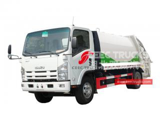ISUZU 10CBM Rear loader - CEEC