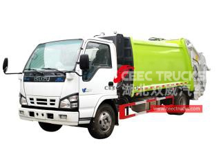 ISUZU 4*2 Waste compression truck - CEEC