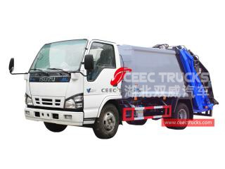 ISUZU 4*2 Rubbish compression truck - CEEC