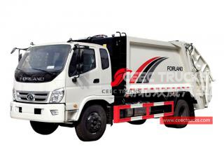 FOTON 8CBM Refuse compression vehicle - CEEC
