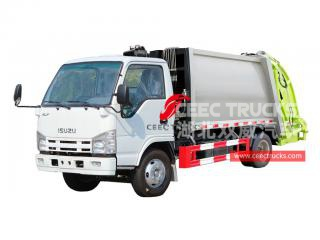 Brand new ISUZU 4CBM Waste compressor truck for sale
