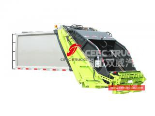 European standard 5,000 liters refuse compression truck body kit