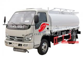 FOTON mini fuel tanker truck for sale
