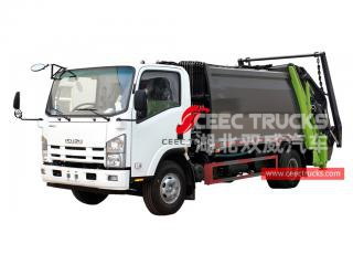 ISUZU Garbage compressor truck for sale