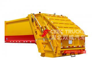 Good quality 12,000 liters garbage compactor truck body