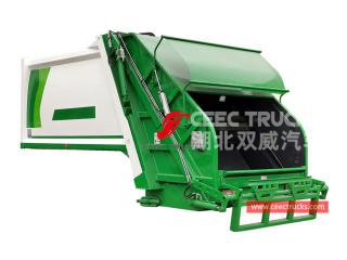Good quality 10,000 liters rubbish truck compactor body