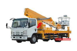 ISUZU Truck mounted straight boom lift