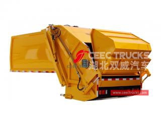 8,000 liters garbage truck compactor body