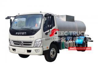 FOTON stainless steel water truck