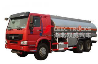 SINOTRUK HOWO 6X6 all wheel drive Fuel bowser Oil tanker trucks - CEEC