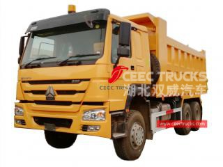 HOWO RHD tipper lorry