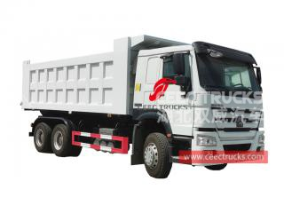 HOWO 10 wheeler new dump truck