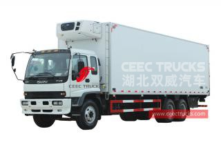 ISUZU 10 wheeler refrigerated truck