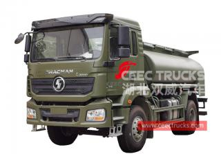 Shacman 6 wheeler oil tanker truck