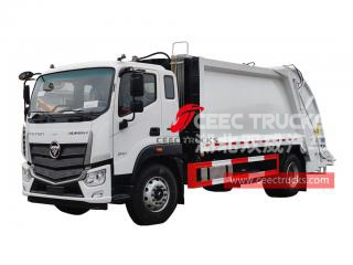 FOTON 6 wheeler garbage compression truck