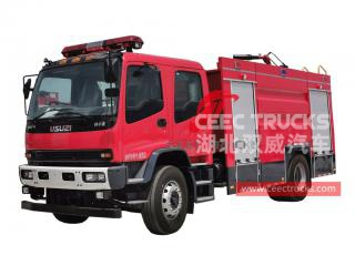 ISUZU FVR water-foam fire truck