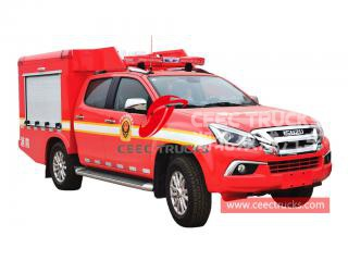 ISUZU 4WD pickup fire fighting truck