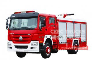 HOWO water tank fire engine