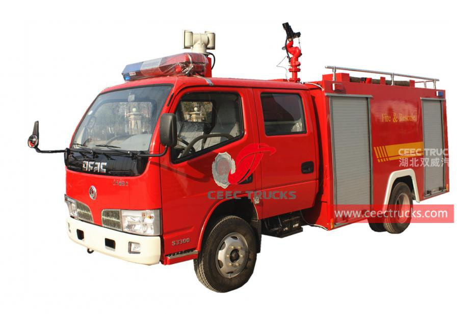 Dongfeng 4×2 firefighting truck