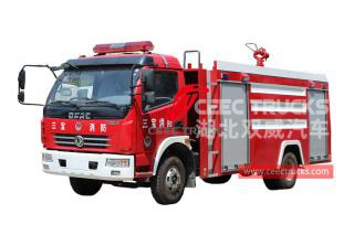 Dongfeng 4×2 fire engine