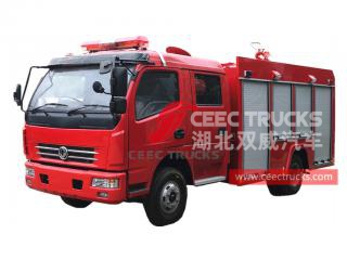 Dongfeng 4×2 RHD fire lorry
