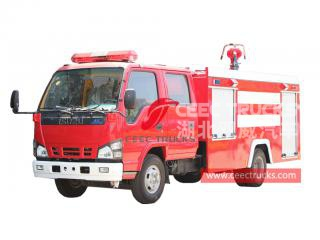 ISUZU 4×2 fire lorry