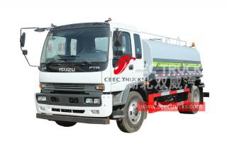 ISUZU FTR water bowser for sale