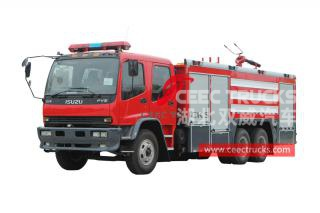 ISUZU FVZ water-foam fire truck