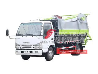 ISUZU 98HP garbage compression truck for sale