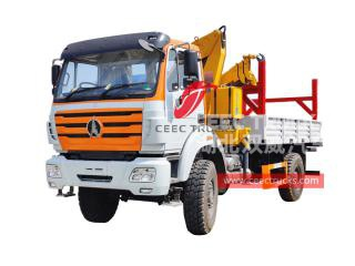 6.3 Tons XCMG crane based on Beiben RHD 4×4 truck