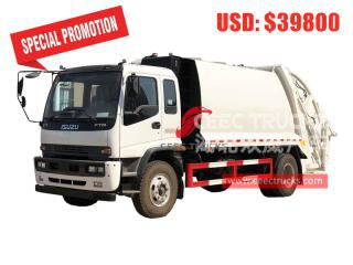 ISUZU 12CBM Waste compression truck-CEEC TRUCKS
