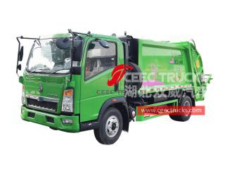 HOWO Refuse compactor for sale