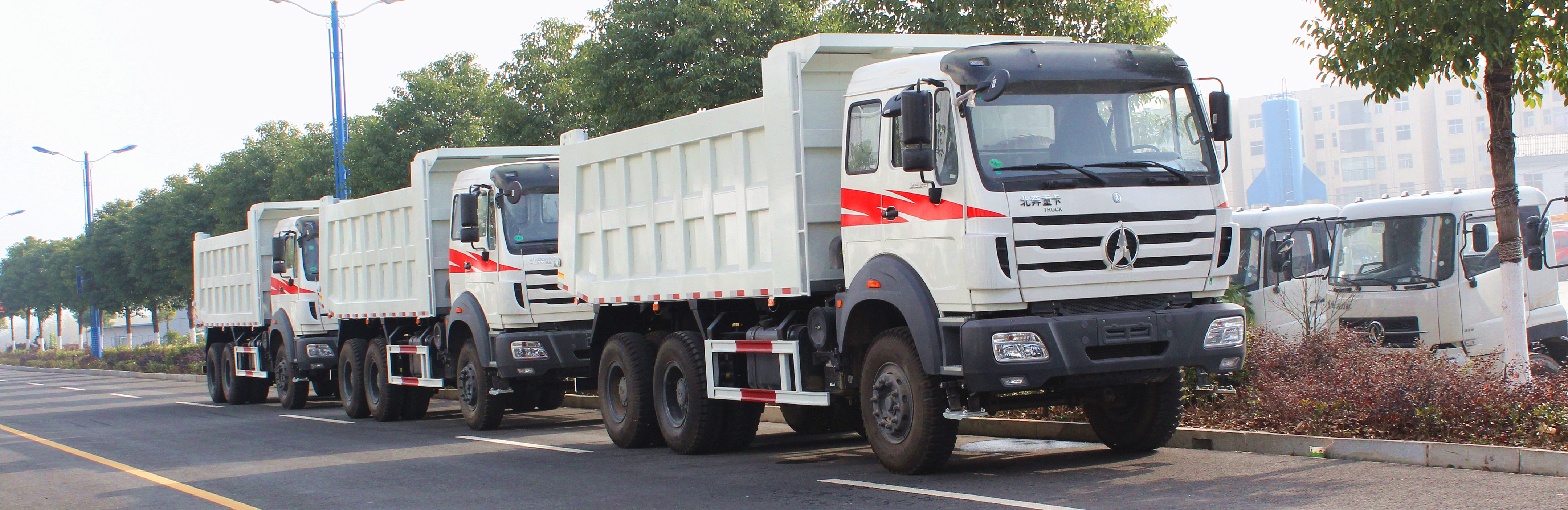 TOP beiben dumper trucks manufacturer lowest price sale