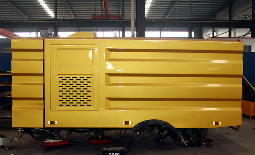 How to produce 5 CBM road sweeper truck upper kits ?