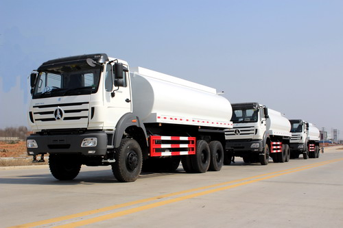 10 units beiben 6*6 water tanker truck export to kenya