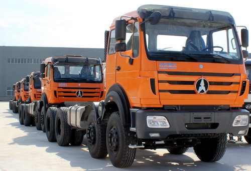 Beiben 12 CBM mixer truck export to West africa