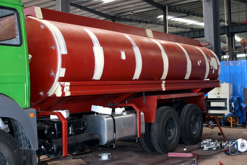 Production of 20 CBM fuel tanker truck  ?  ( Part 3- Final assembling )