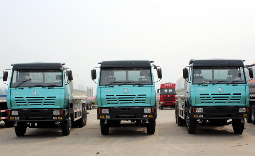 Mali customer order 4 units styer fuel tanker truck