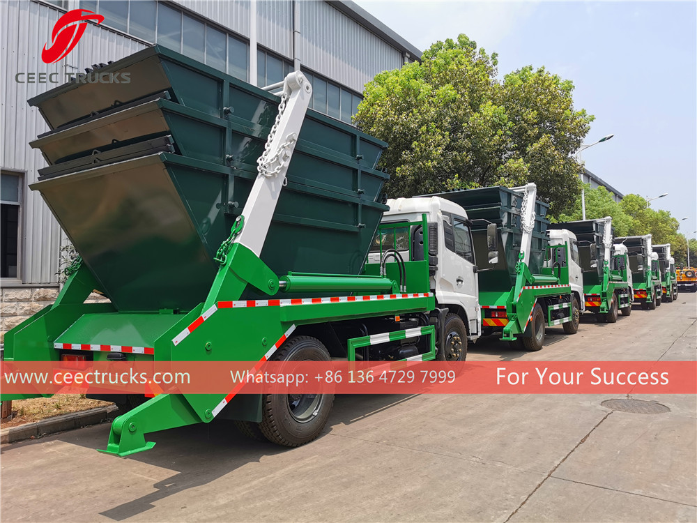 Tanzania- 20 units dongfeng skip loader export