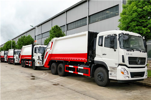 10 units heavy Dongfeng 20cbm garbage compactor truck for Government Environmental project