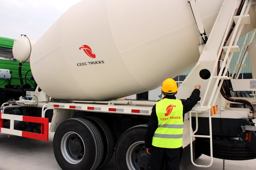 Beiben 10 CBM mixer truck export to Saudi arabia