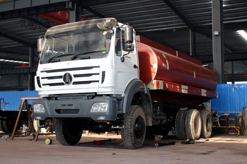 Production of 20 CBM water tanker truck ( Part 4- Tanker assembling)