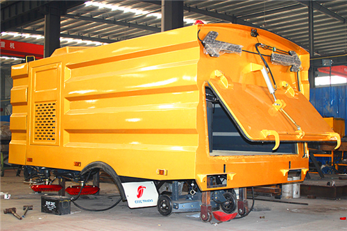 5CBM Road Sweeper Superstructure