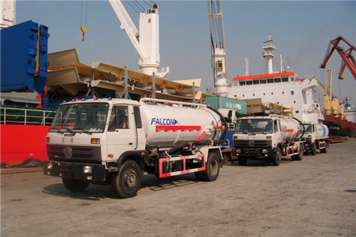 Dongfeng 10cbm vacuum suction truck export Ghana