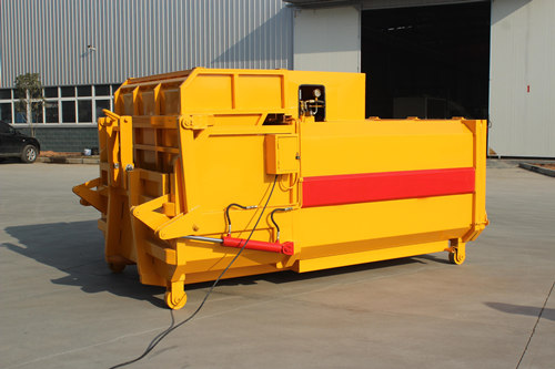 Mobile garbage compactor station export East Asis countries