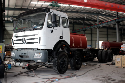 Production of 40 CBM fuel tanker truck