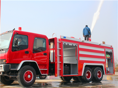 CEEC Guidance--ISUZU Firefighting Truck Operate Manual