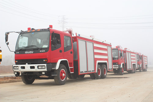 Top quality ISUZU firefighting trucks export Africa