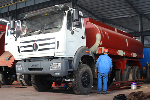 How to Build good quality Beiben water tanker truck?