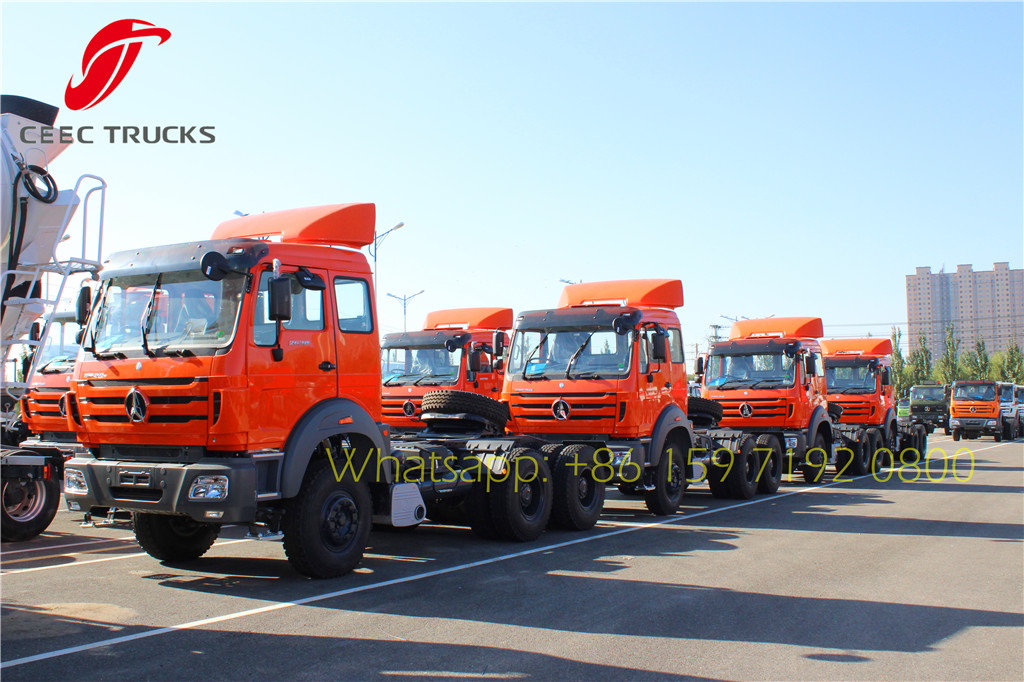 Best north benz 2638 right hand drive tractor truck for exporting
